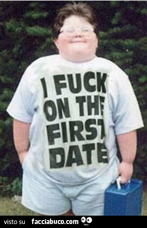 I Fuck On First Date Shirt