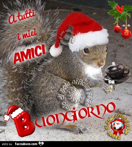 A Tutti I Miei Amici Buongiorno Facciabucocom