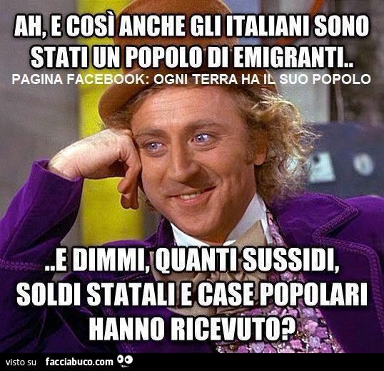 Ah e cos anche gli italiani sono stati un popolo di for Quanti sono i deputati italiani