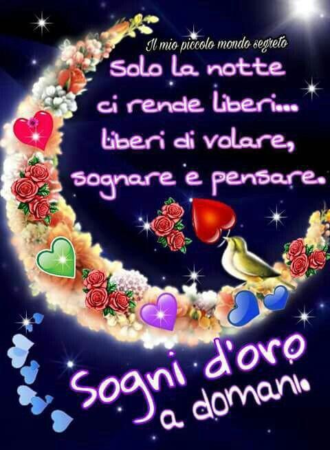 Buona Notte A Tutti A Domani Chiacchiera Pubblicata Da Morettone63