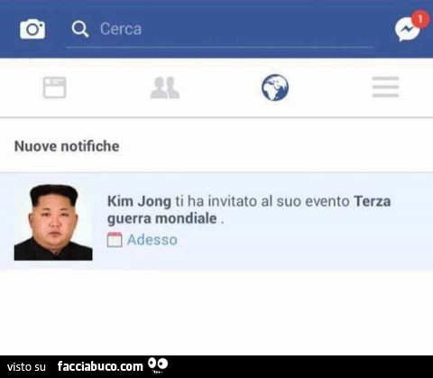 Kim jong ti ha invitato al suo evento terza guerra for Suo e suo armadio